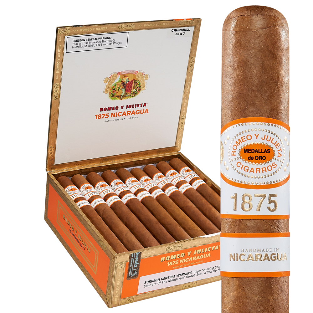 photo of Romeo y Julieta 1875 Reserve Churchill Nicaraguan - BOX (25) by Thompson Cigar