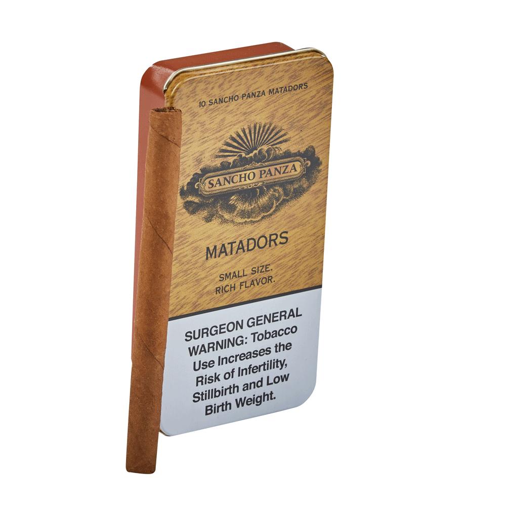 photo of Sancho Panza Matador - PACK (10) by Thompson Cigar