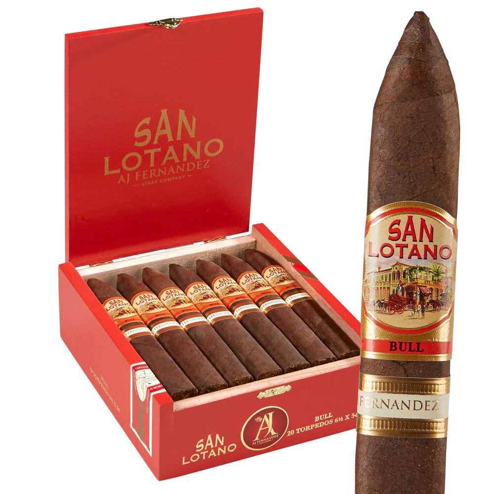 photo of Aj Fernandez San Lotano The Bull Robusto Sumatra - BOX (20) by Thompson Cigar