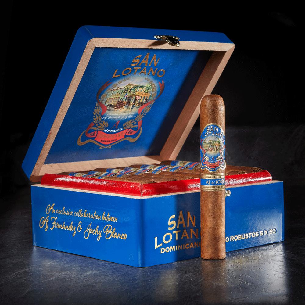 photo of San Lotano Dominicano Robusto Brazilian - BOX (20) by Thompson Cigar