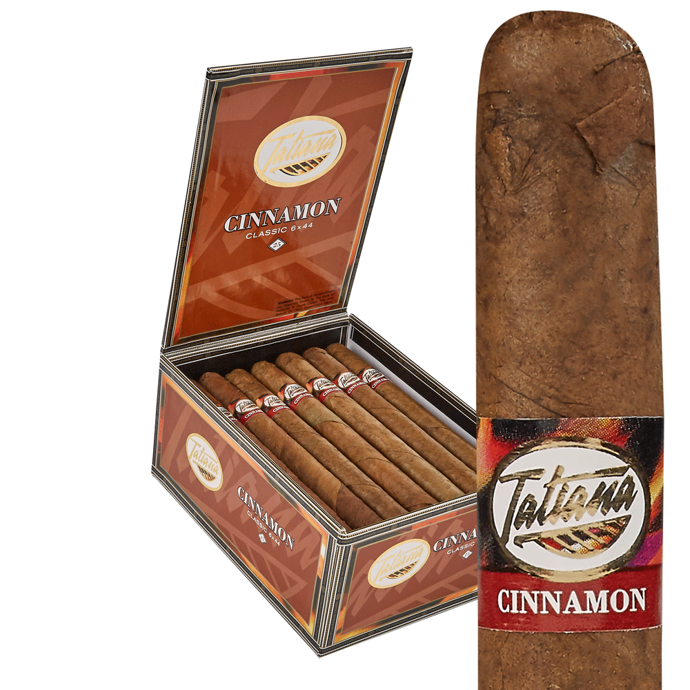 photo of Tatiana Flavored Classic Corona Cinnamon - BOX (25) by Thompson Cigar