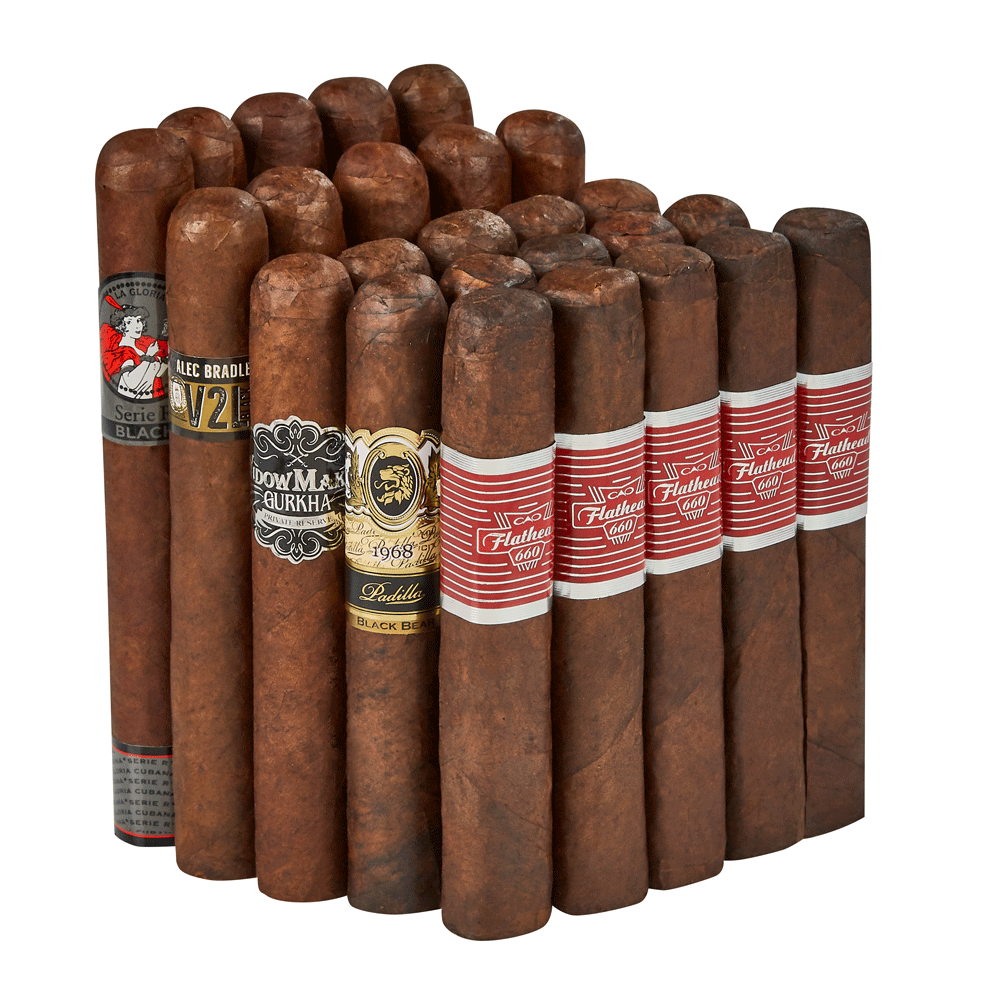 Mammoth Maduros 25-Cigar Collection - 25 Cigars photo - CALIFORNIA SHEETS