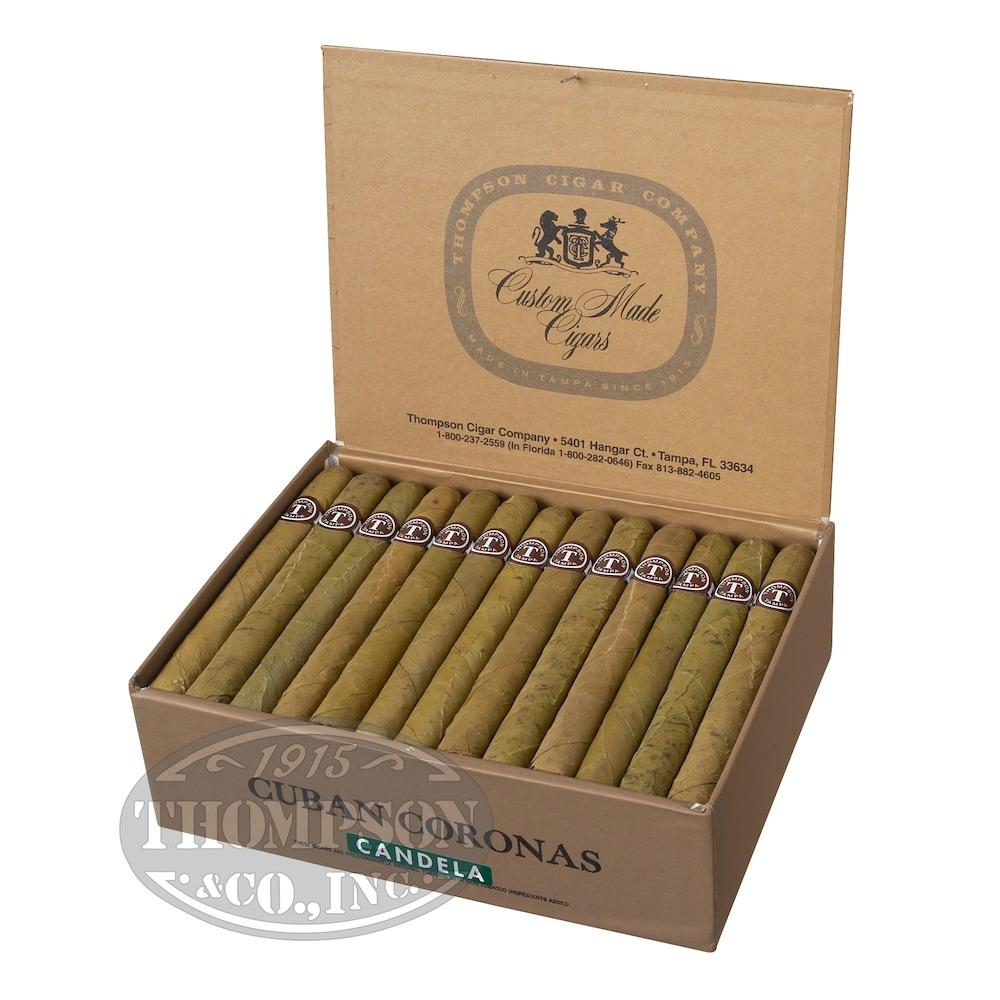 photo of Thompson Dominican Honduras Thins Candela Panetela - BOX (50) by Thompson Cigar