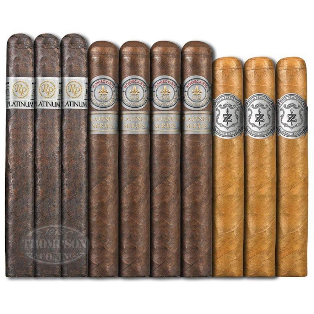 photo of Platinum 10 Cigar Super Premium Sampler - SAMPLER (10) by Thompson Cigar