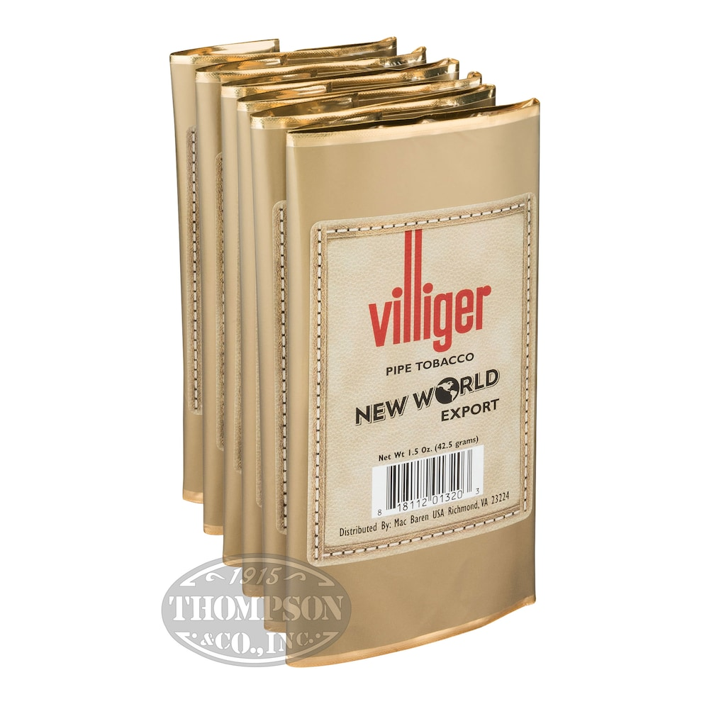 photo of Villiger Export Pipe Tobacco New World 1.5oz - 1.5 Ounce Pouch by Thompson Cigar