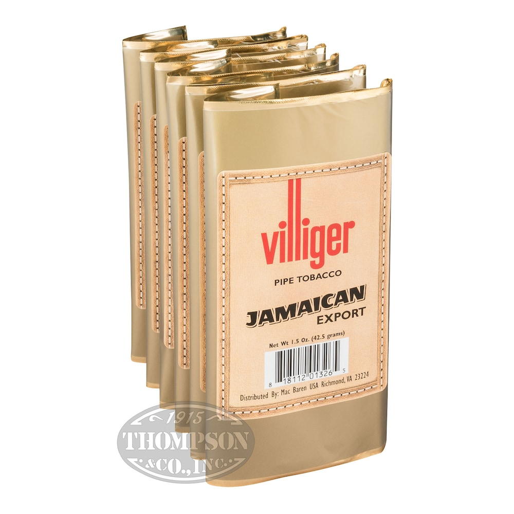 photo of Villiger Export Pipe Tobacco Jamaican 1.5oz - 1.5 Ounce Pouch by Thompson Cigar