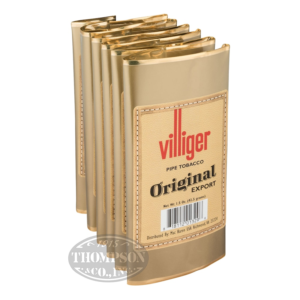 photo of Villiger Export Pipe Tobacco Original 1.5oz - 1.5 Ounce Pouch by Thompson Cigar
