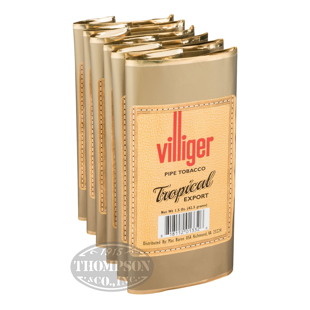 photo of Villiger Export Pipe Tobacco Tropical 1.5oz - 1.5 Ounce Pouch by Thompson Cigar