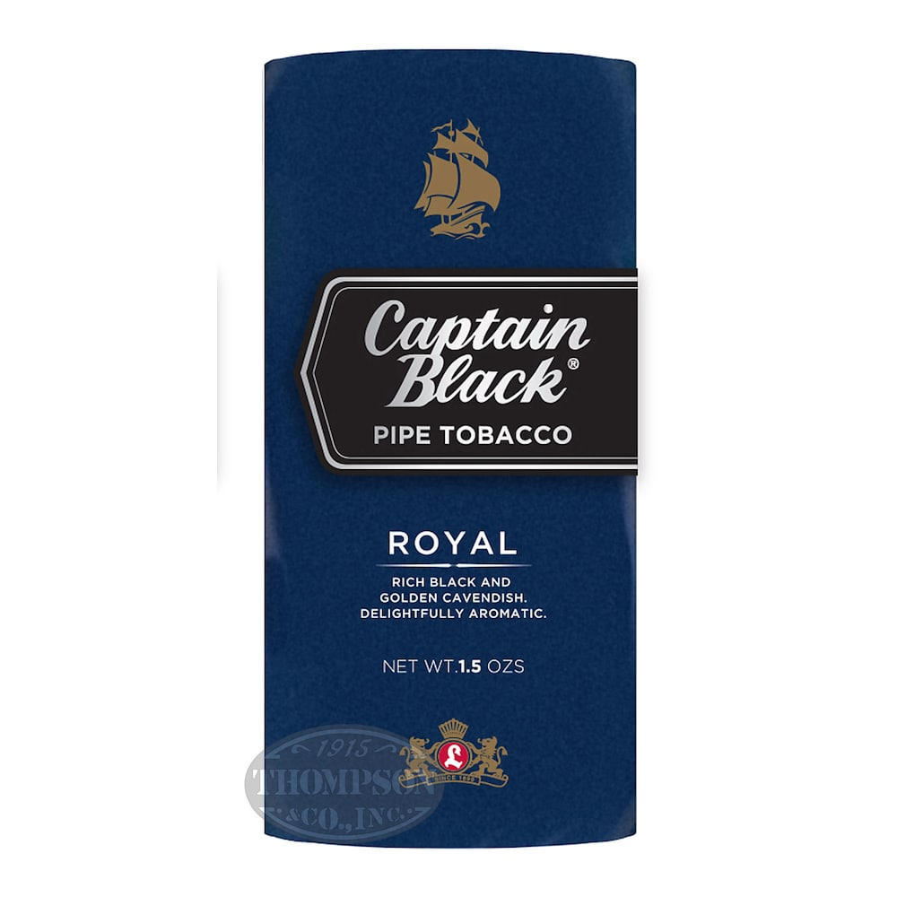 photo of Captain Black Royal Pipe Tobacco Pouch Sweet - 1.5 Ounce Pouch by Thompson Cigar