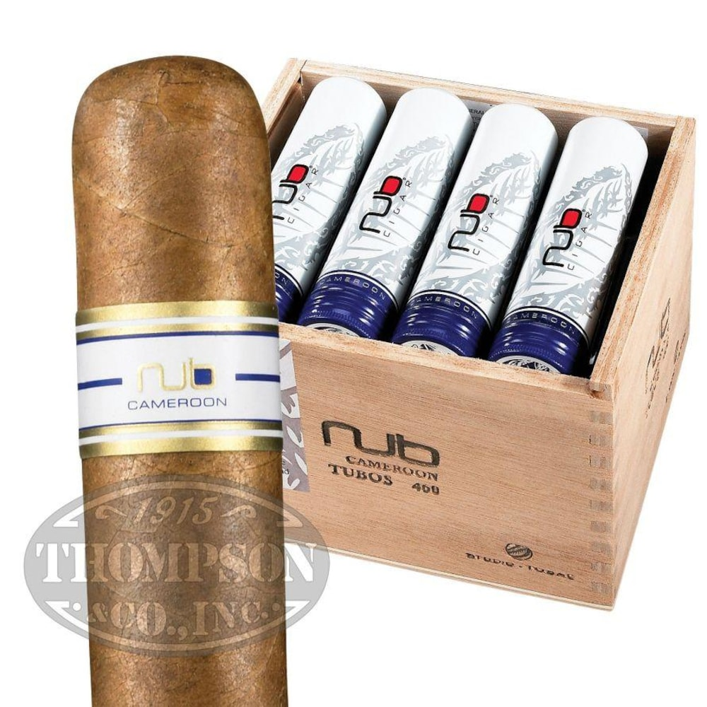 photo of Nub By Oliva Cameroon 460 Tubos Cameroon Rothschild - BOX (12) by Thompson Cigar