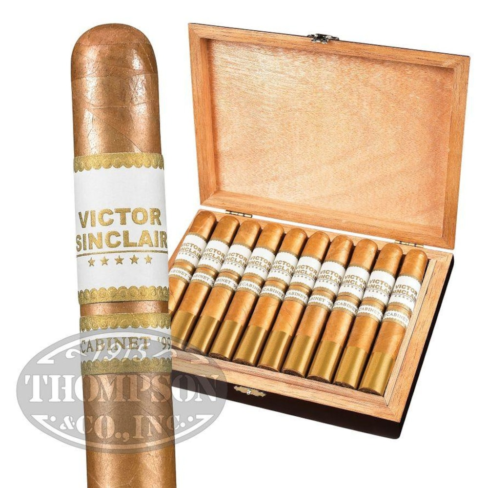 photo of Victor Sinclair Cabinett 99 Robusto Connecticut - BOX (20) by Thompson Cigar