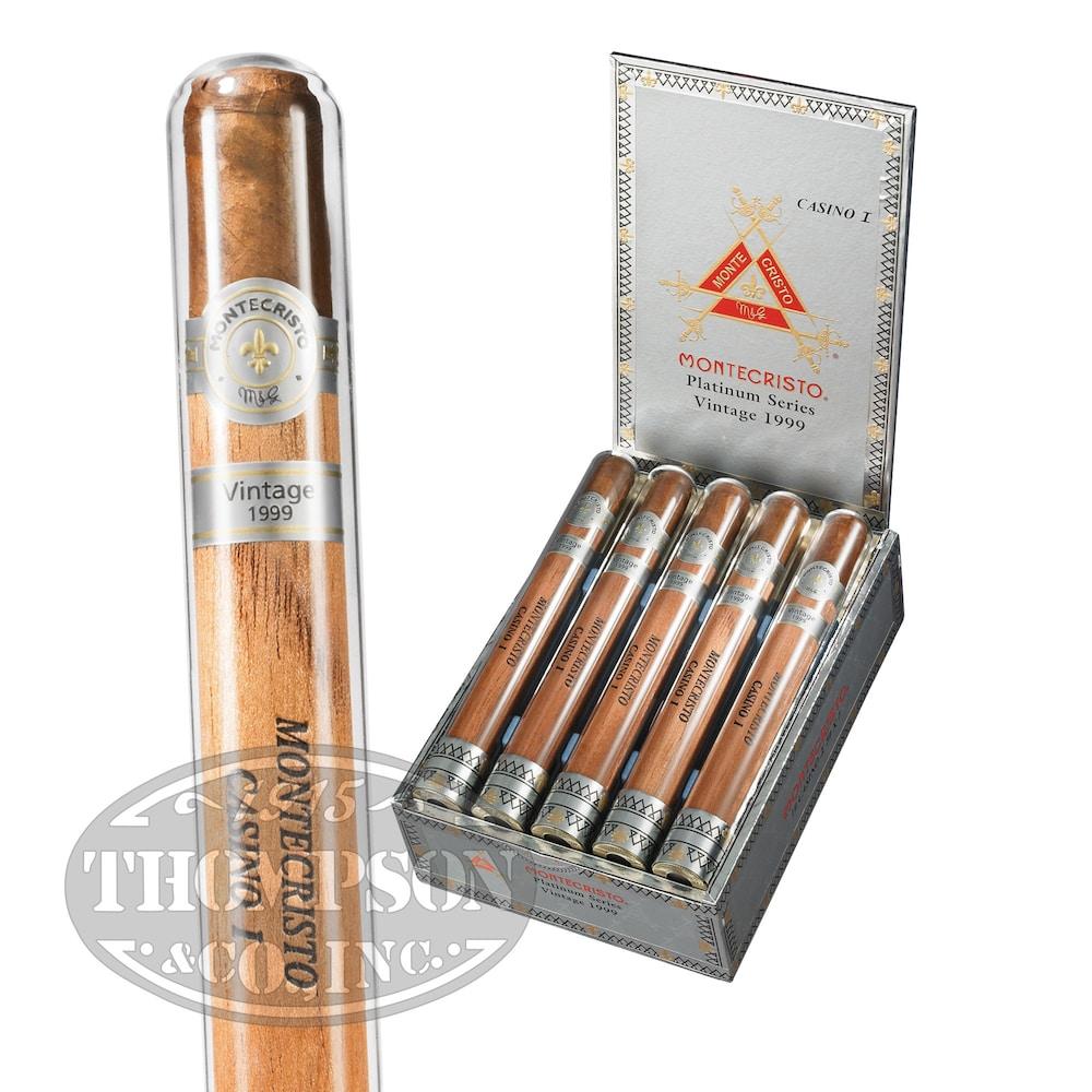 photo of Montecristo Platinum Casino I Sumatra Churchill - BOX (10) by Thompson Cigar