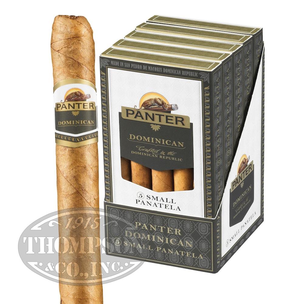 photo of Agio Panter Dominican Small Panatela Natural Small Panetela - BUNDLE (50) by Thompson Cigar