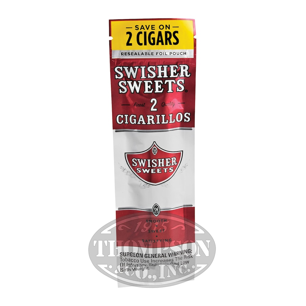 photo of Swisher Sweets Sweet Natural Cigarillo - PACK (60) by Thompson Cigar
