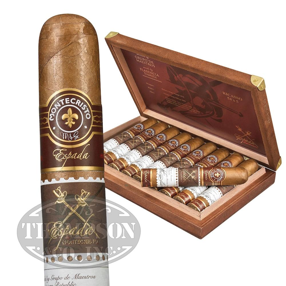 photo of Montecristo Espada Ricasso Habano Robusto - PACK (5) by Thompson Cigar