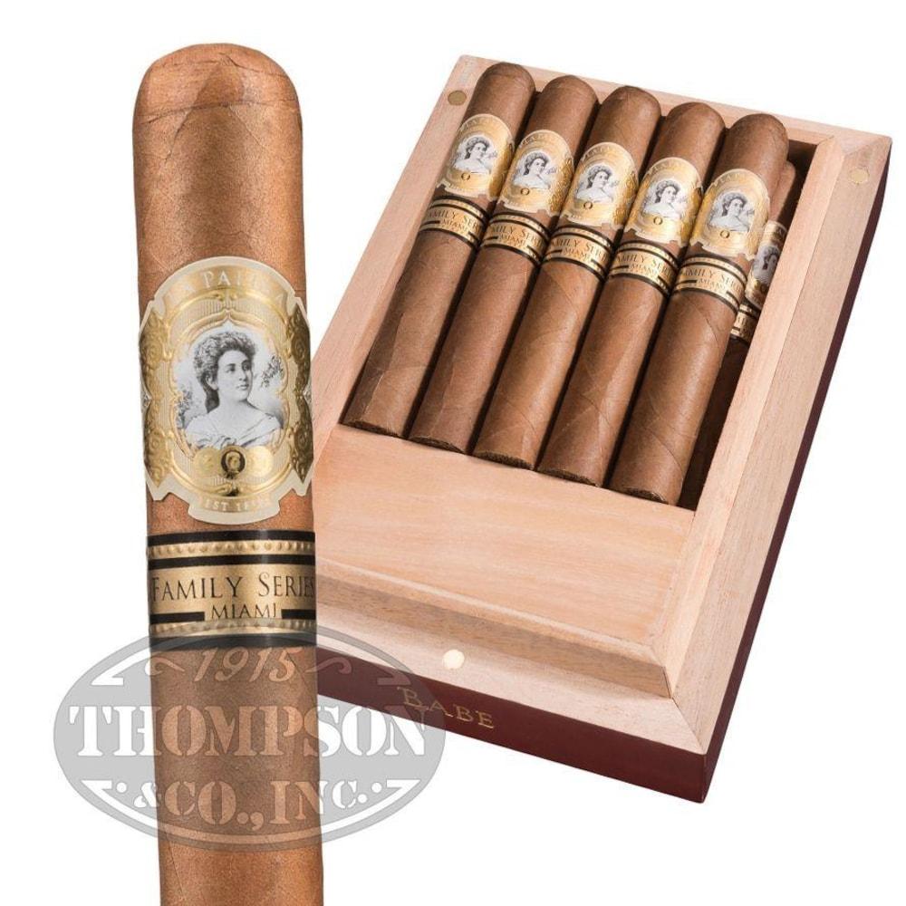 photo of La Palina Family Series Miami Babe Corojo Robusto - BOX (10) by Thompson Cigar