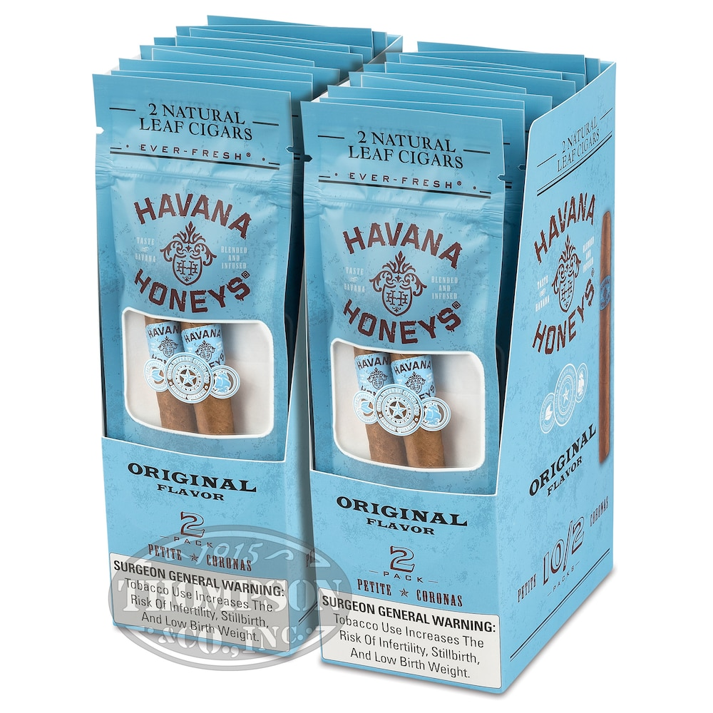photo of Havana Honey Cigarillo Natural Natural Original - PACK (40) by Thompson Cigar