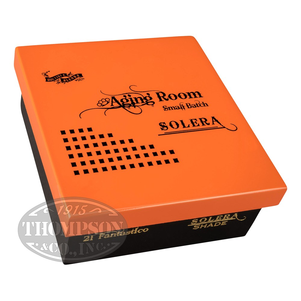 photo of Aging Room Solera Festivo Connecticut Robusto - BOX (21) by Thompson Cigar