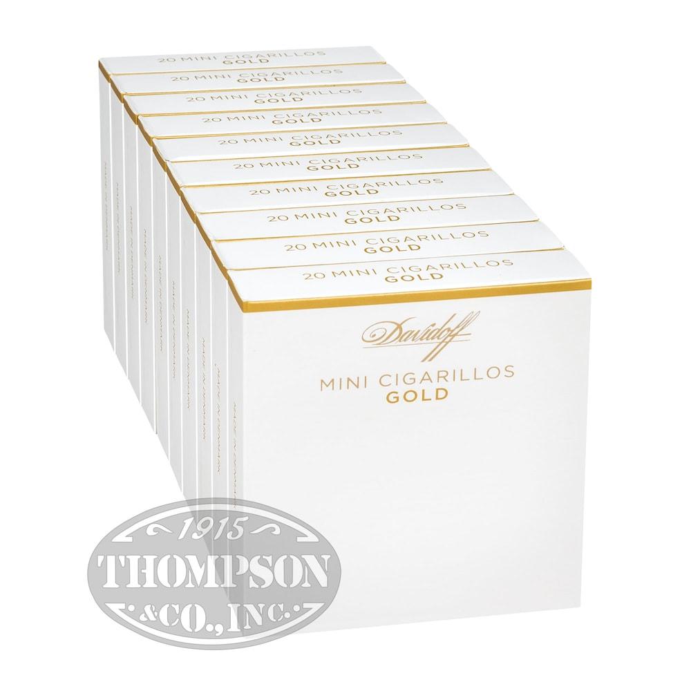 photo of Davidoff Small Cigars Mini Cigarillo Gold Sumatra Mini Cigarillo - BOX (200) by Thompson Cigar