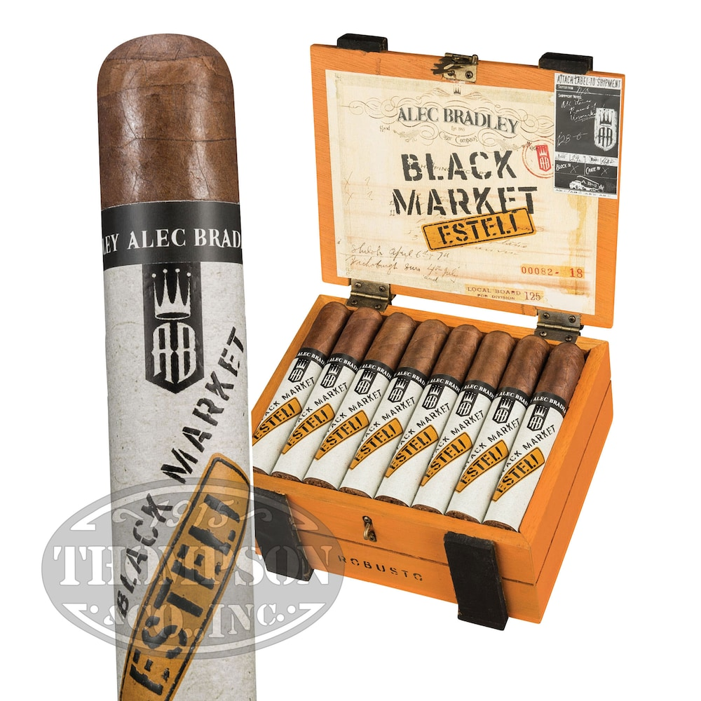 photo of Alec Bradley Black Market Esteli Robusto Nicaraguan - BOX (22) by Thompson Cigar