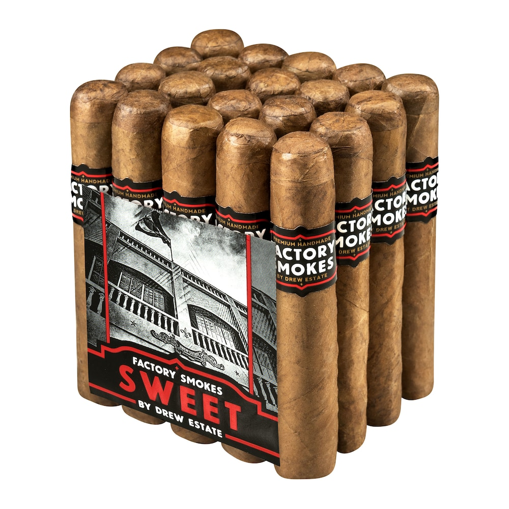 photo of Drew Estate Factory Smokes Churchill Habano Sweet - PACK (20) by Thompson Cigar