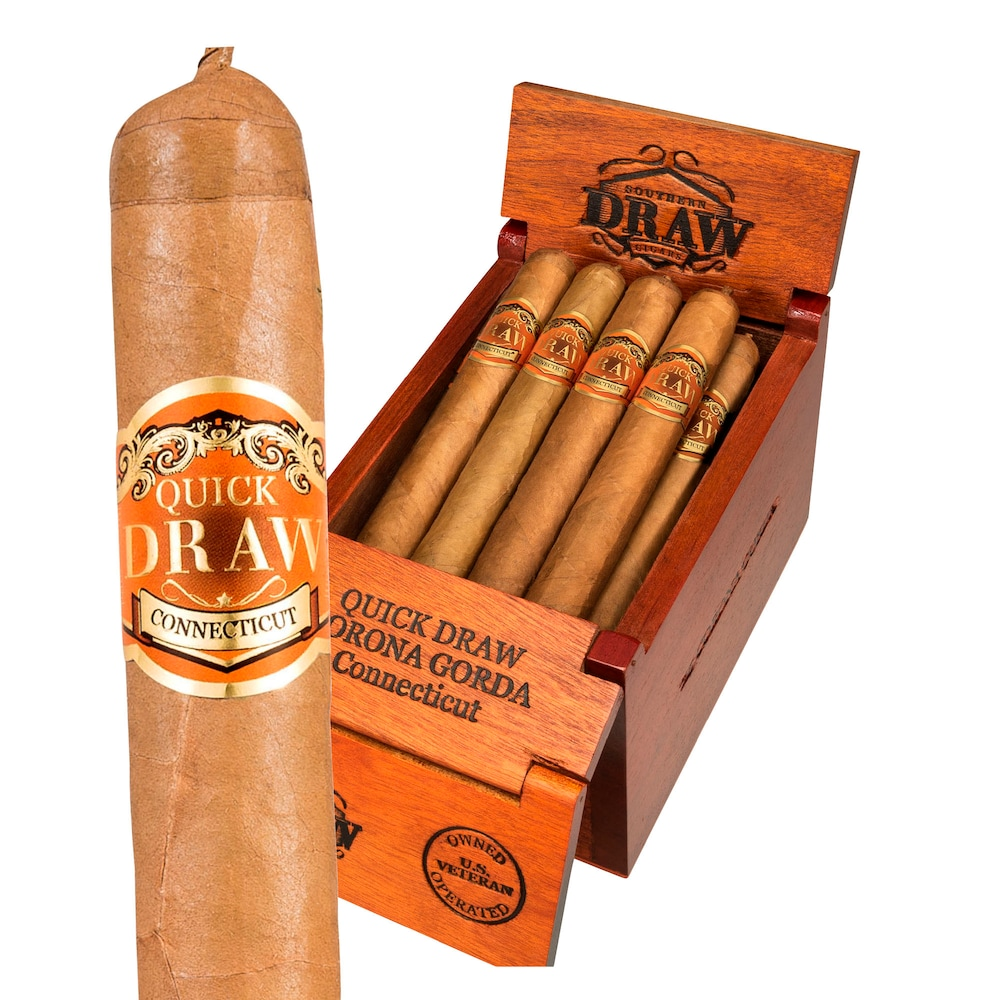 photo of Southern Draw Quickdraw Corona Gorda Connecticut - BOX (25) by Thompson Cigar
