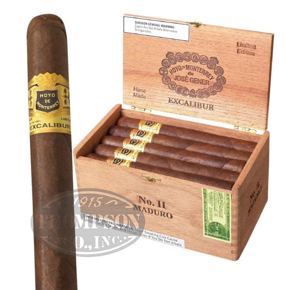photo of Hoyo De Monterrey Excalibur II Lonsdale Grande Maduro - BOX (20) by Thompson Cigar