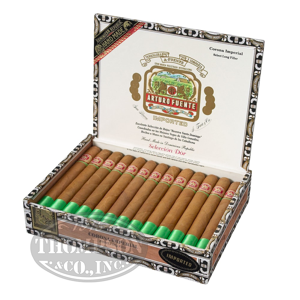 photo of Arturo Fuente Seleccion D'Oro Corona Imperial Natural Lonsdale - PACK (10) by Thompson Cigar