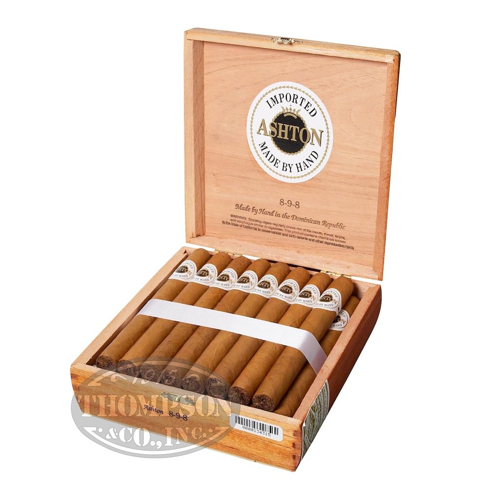 photo of Ashton Classic Corona Connecticut - PACK (10) by Thompson Cigar