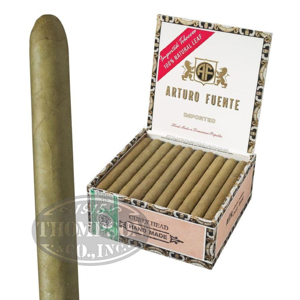 photo of Arturo Fuente Curly Head Lonsdale Candela - BOX (40) by Thompson Cigar