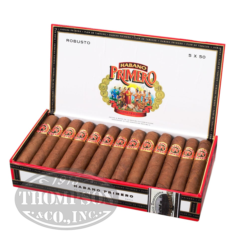 photo of Habano Primero 2-Fer Natural Churchill - PACK (50) by Thompson Cigar