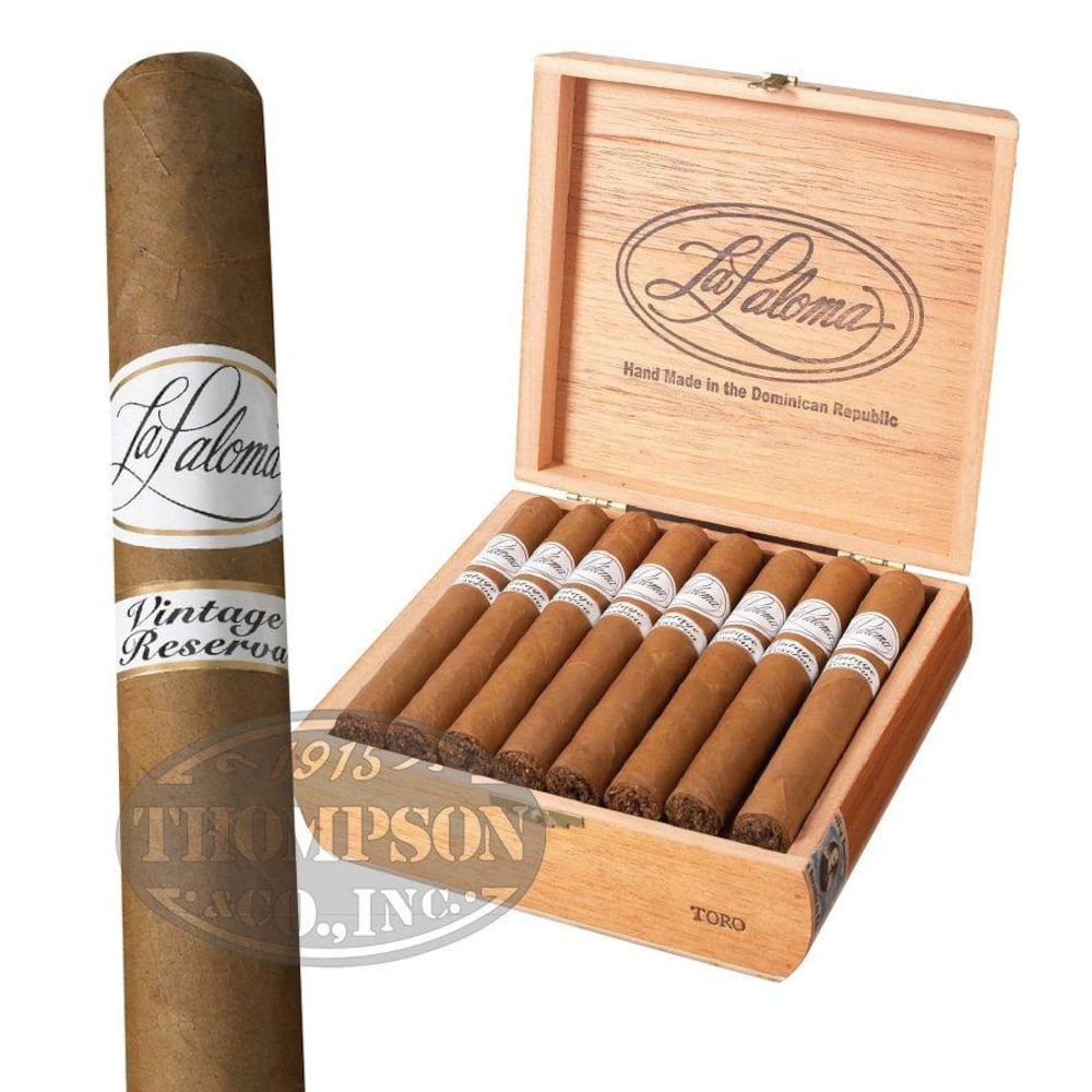 photo of La Paloma Vintage Reserva Toro Connecticut - BOX (25) by Thompson Cigar