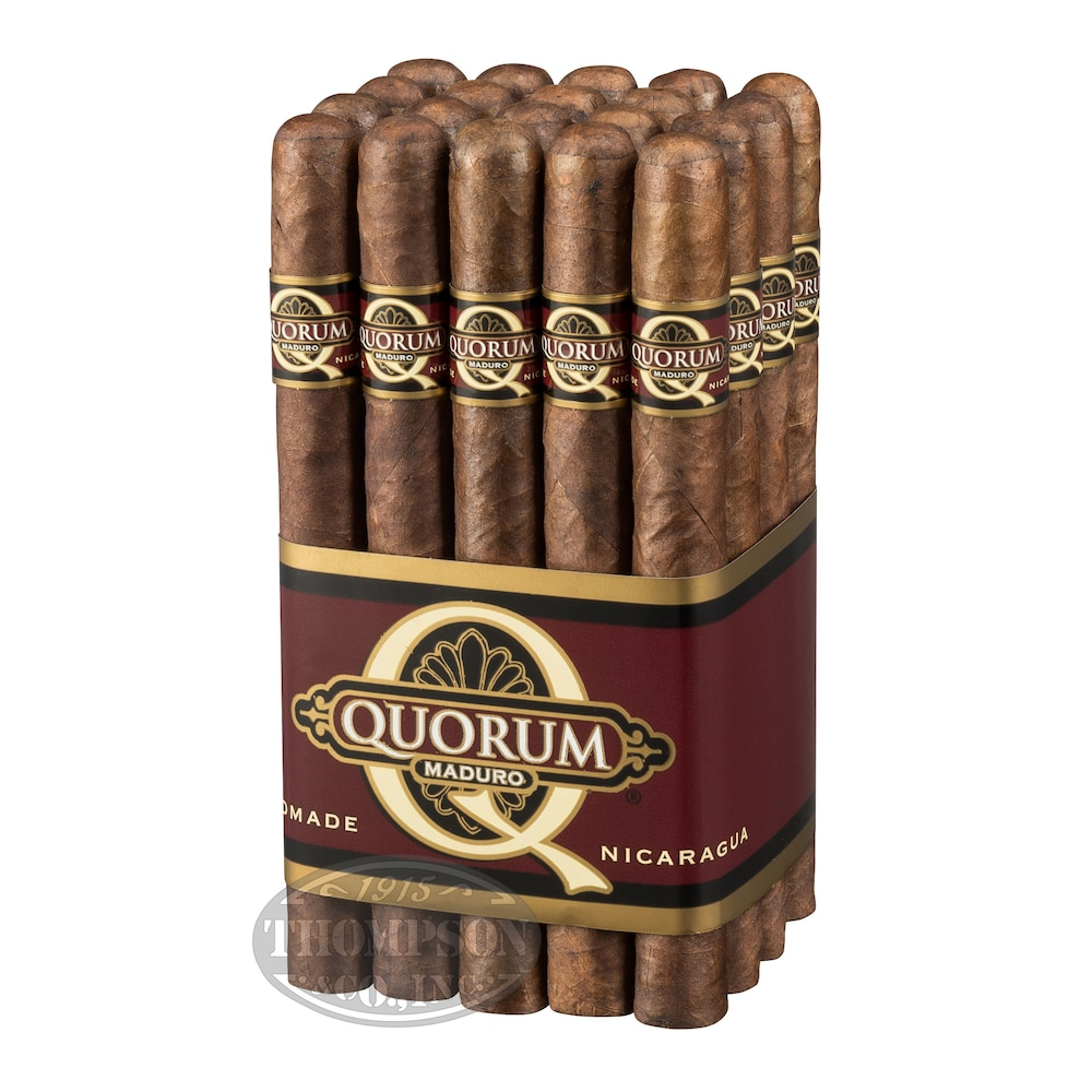 photo of Quorum Churchill Maduro - PACK (20) by Thompson Cigar