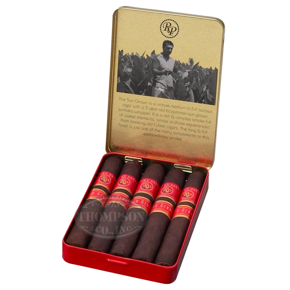 photo of Rocky Patel Juniors Sun Grown Cigarillo - PACK (50) by Thompson Cigar