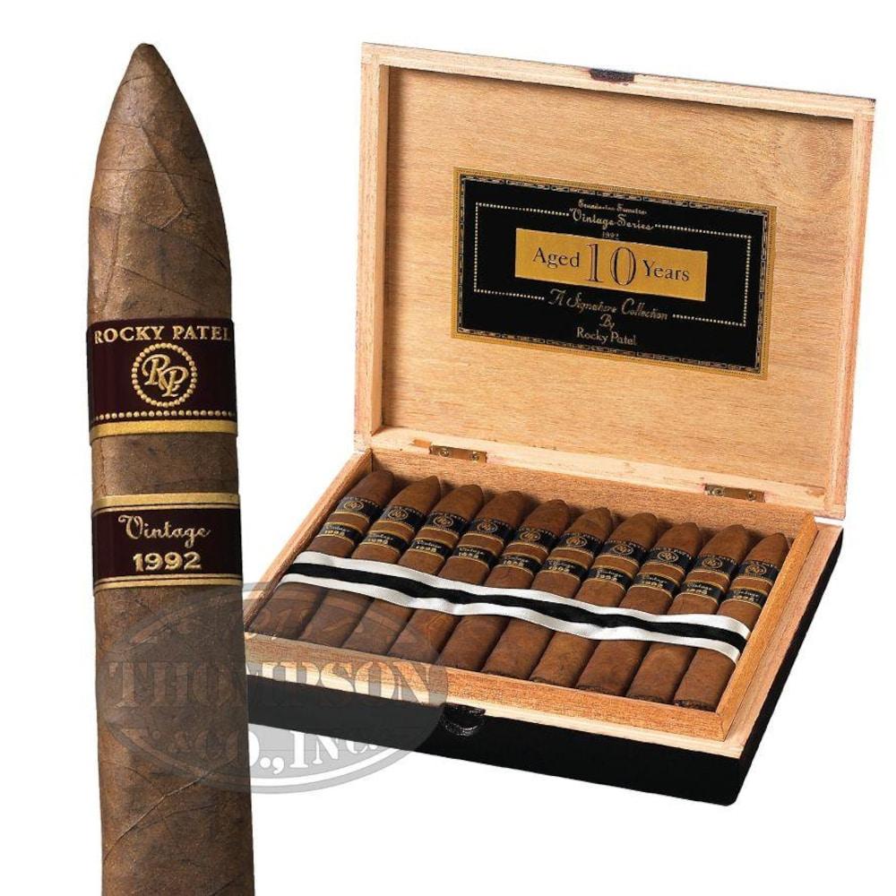 photo of Rocky Patel Vintage 1992 Torpedo Sumatra - BOX (20) by Thompson Cigar