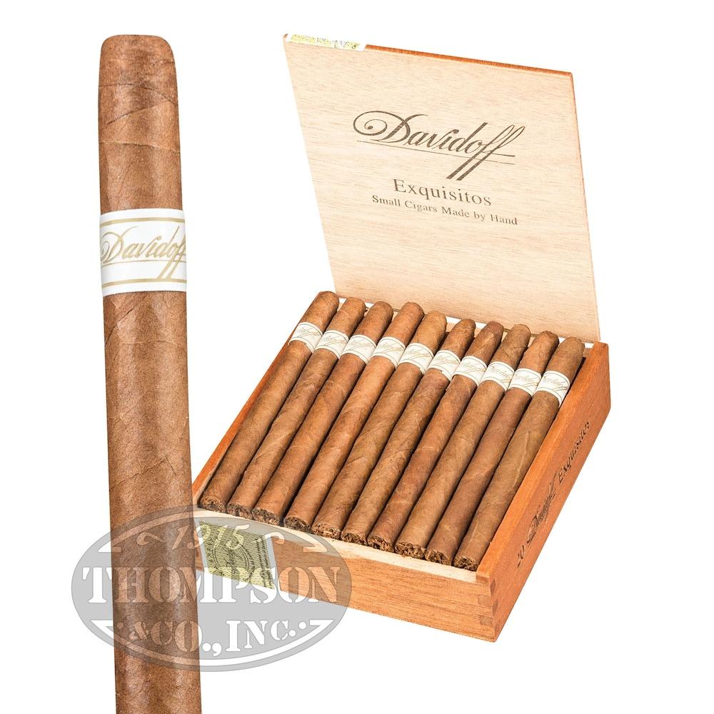 photo of Davidoff Small Cigars Exquisitos Connecticut Mini Cigarillo - BOX (20) by Thompson Cigar
