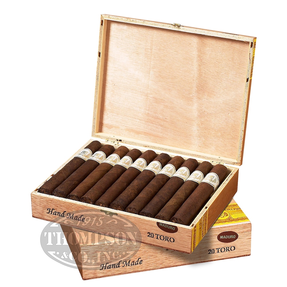 photo of Bacchus 2-Fer Maduro Robusto - PACK (40) by Thompson Cigar