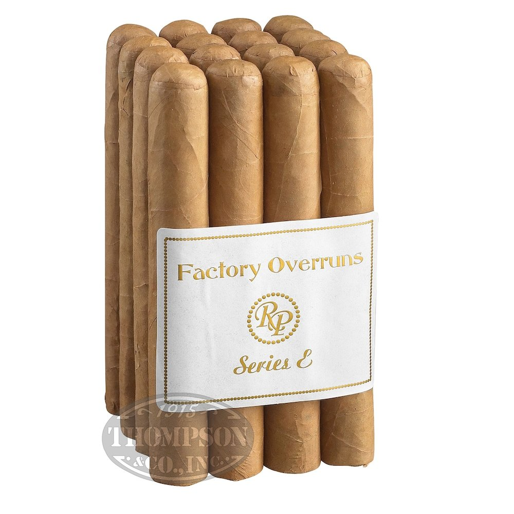 photo of Rocky Patel Factory Overruns Series E Toro Connecticut - PACK (16) by Thompson Cigar