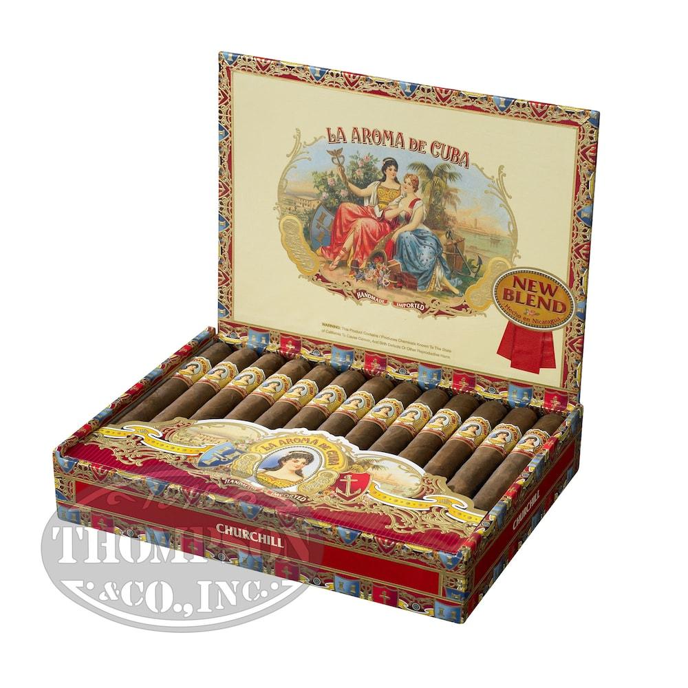 photo of La Aroma De Cuba New Blend Monarch Maduro Toro - BOX (25) by Thompson Cigar