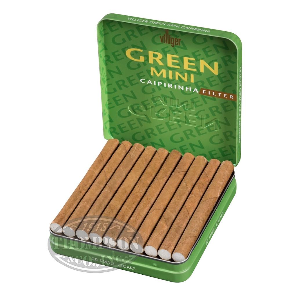 photo of Villiger Mini Cigarillo Sumatra Filtered - PACK (100) by Thompson Cigar