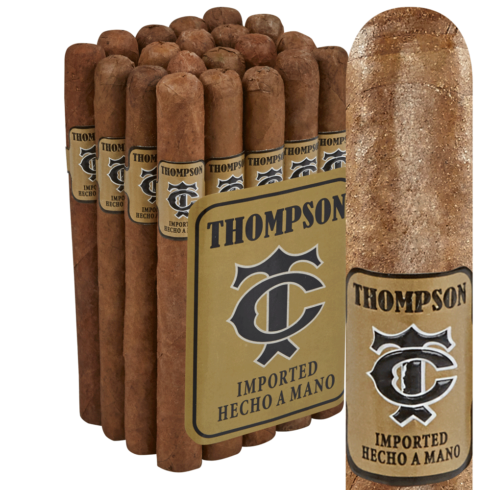 photo of Thompson Gold Label Natural Corona - PACK (20) by Thompson Cigar