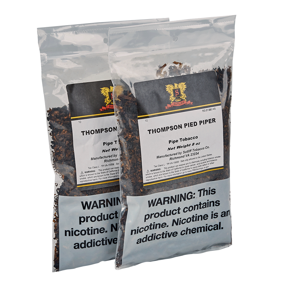 photo of Thompson Pipe Tobacco Pied Piper One Pound - 16 Ounce Bag [2/8oz] by Thompson Cigar