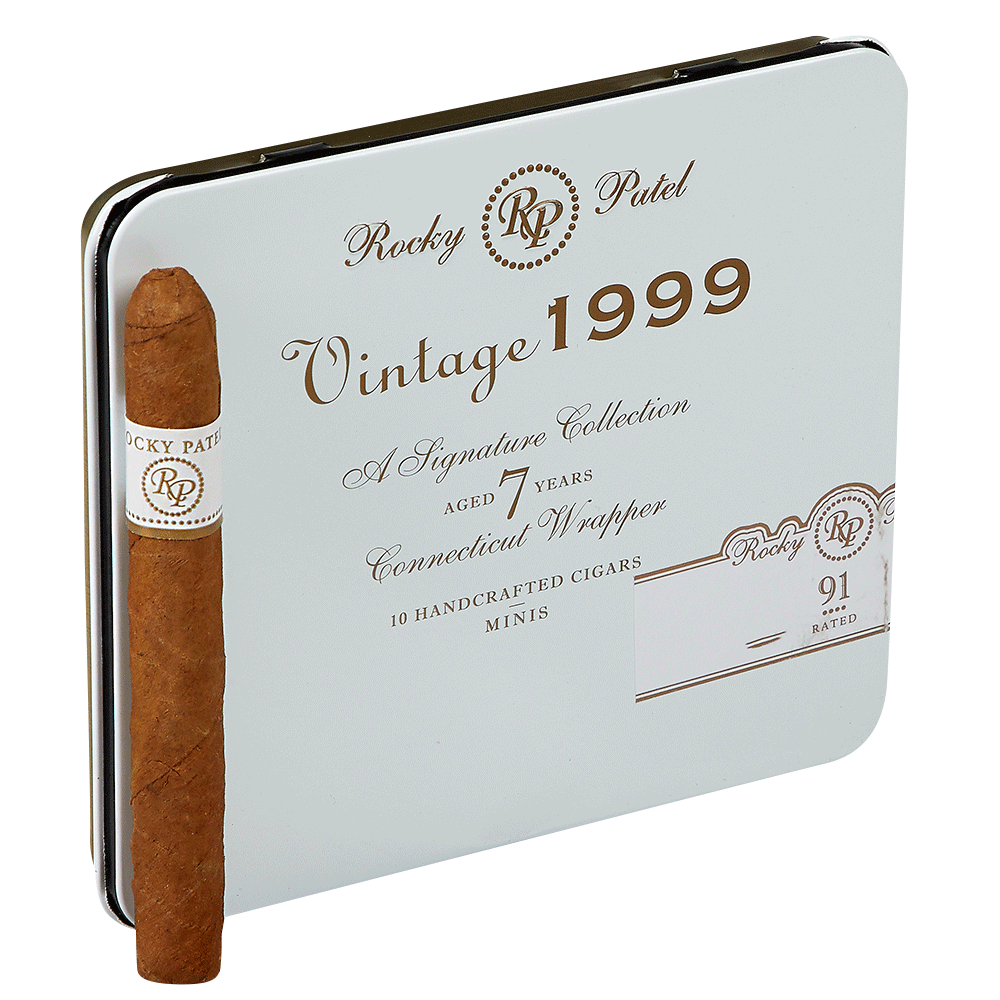 photo of Rocky Patel Vintage 1999 Mini Cigarillo Connecticut - PACK (10) by Thompson Cigar