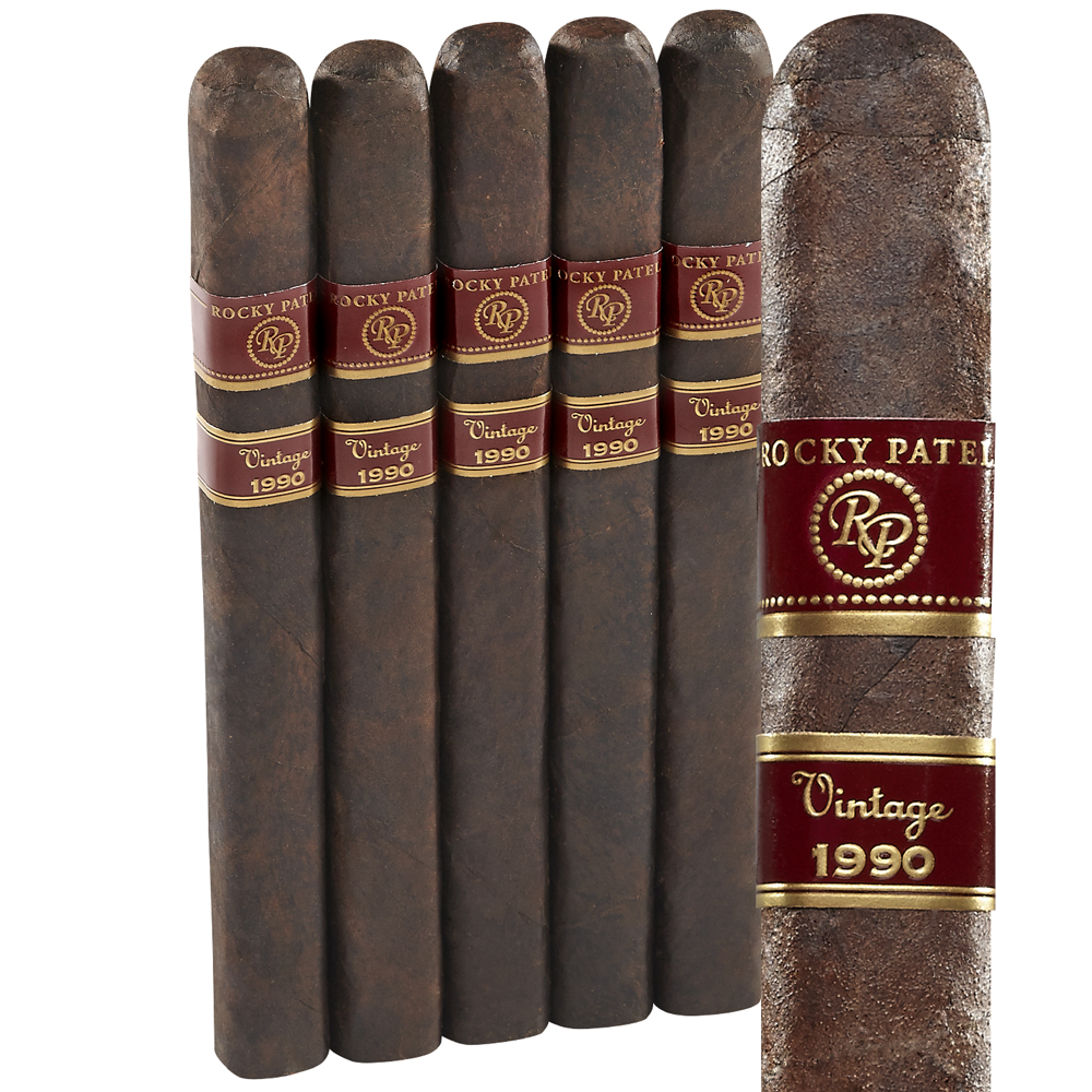 photo of Rocky Patel Vintage 1990 Churchill Maduro 5 Pack - PACK (5) by Thompson Cigar