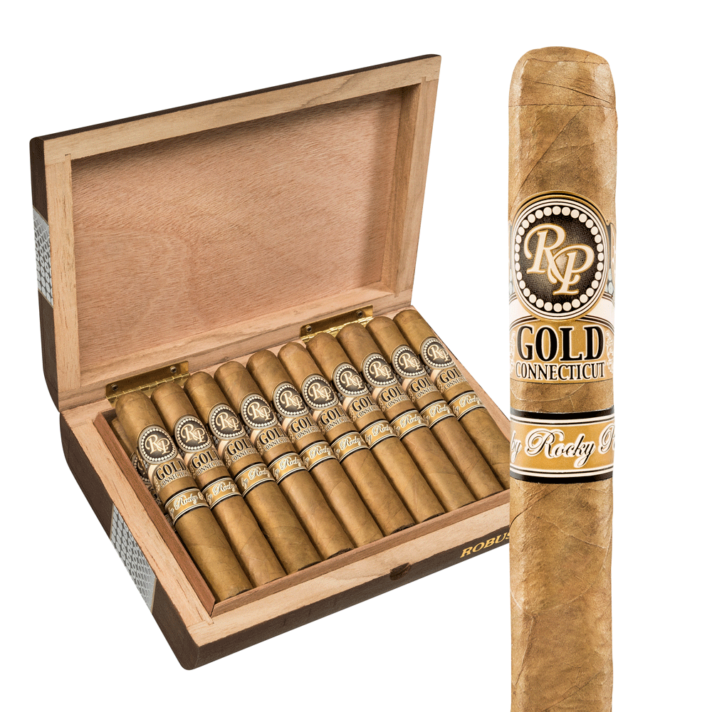 photo of Rocky Patel Gold Robusto Connecticut - BOX (20) by Thompson Cigar