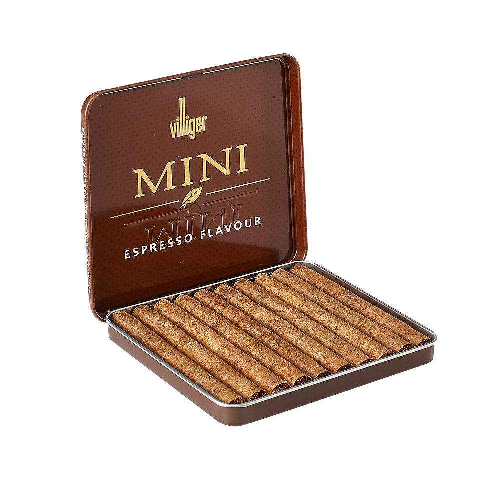 photo of Villiger Vanilla Mini Cigarillo Sumatra - PACK (10) by Thompson Cigar
