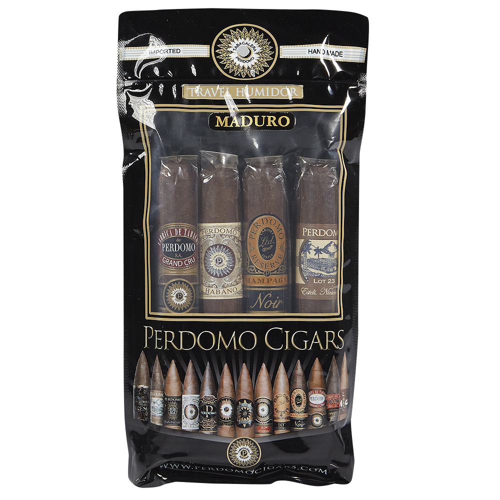 photo of Perdomo Epicure Maduro Toro Humidified Sampler - SAMPLER (4) by Thompson Cigar