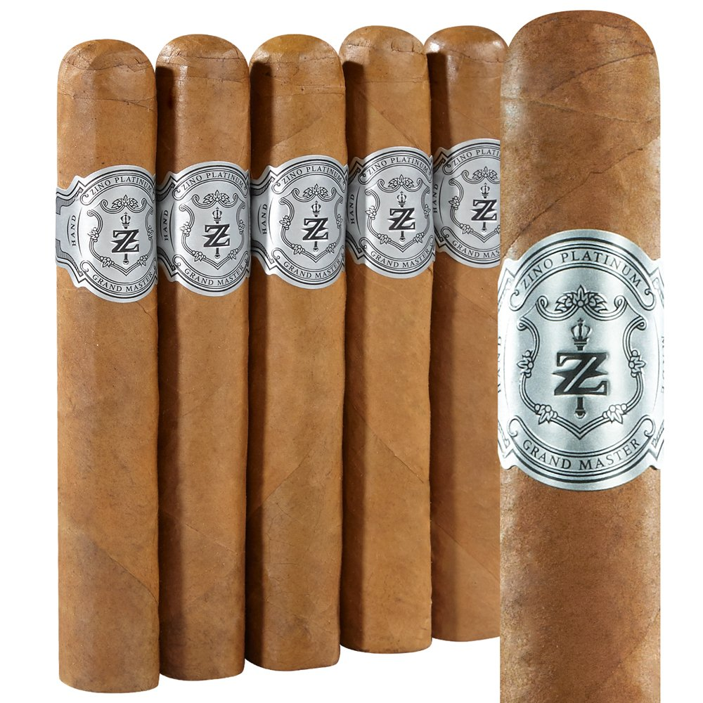 photo of Zino Platinum Scepter Series Grand Master Robusto Connecticut - Pack of 5 by Thompson Cigar