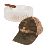 Ashton Ashtray & Hat Combo  Cigar Accessory Sampler