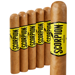 "Camacho Scorpion Robusto Connecticut (5.0""x50) PACK (5)"
